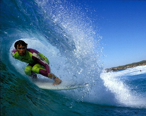 Sean Riley Surfing at Duranbah